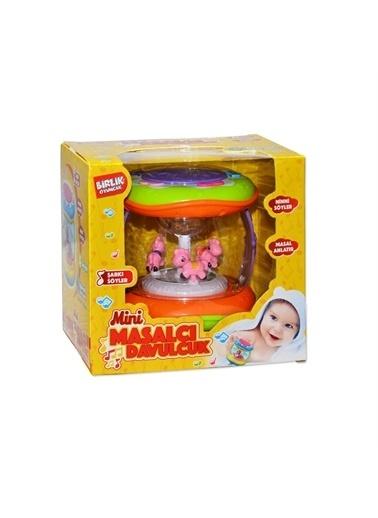 Birlik Oyuncak Birlik Oyuncak 5512 Tr Mini Masalcı Çocuk Davulcuk Oyuncağı Renkli
